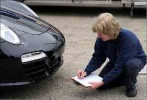 Detailed inspection of vehicle prior to loading