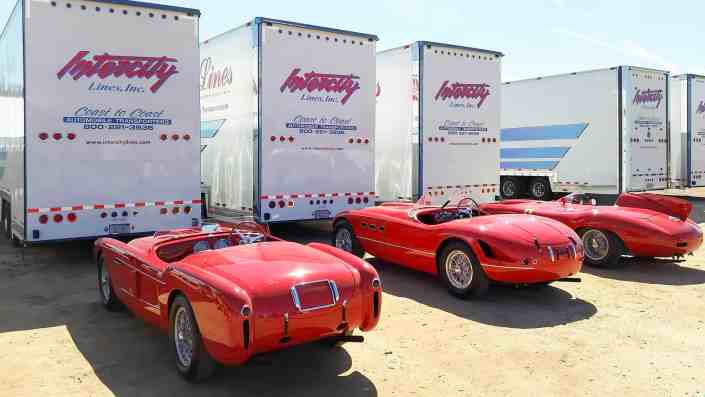 Ferrari enclosed auto transport