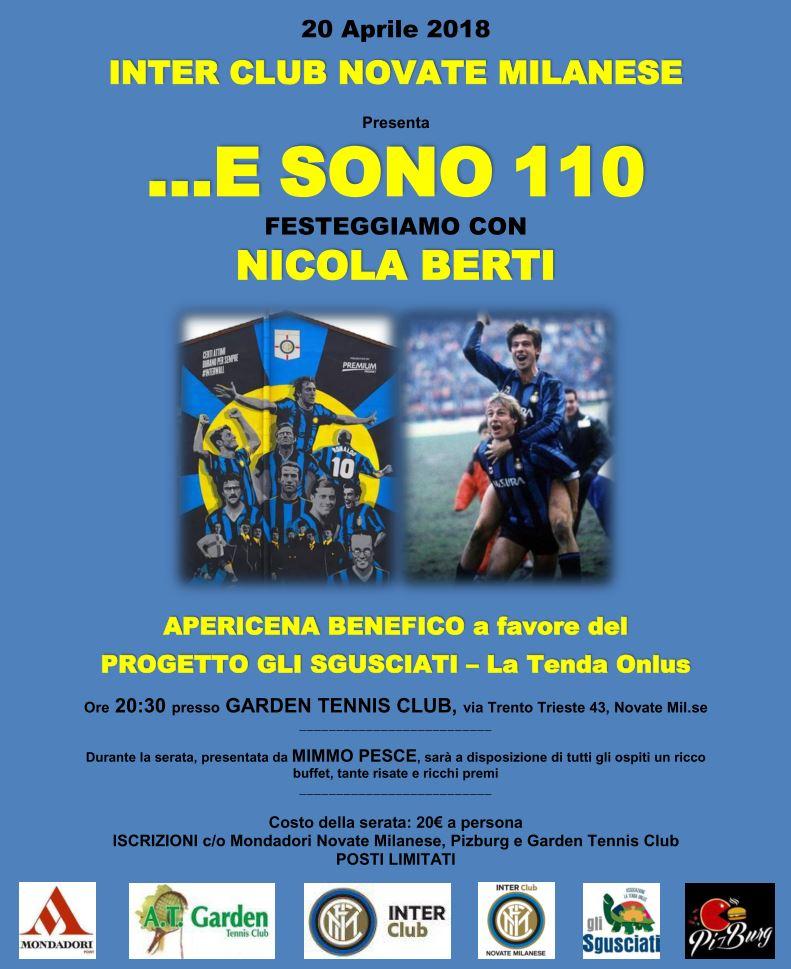 Garden Tennis Club Novate Milanese.E Sono 110 20 Aprile 2018 Inter Club Novate Milanese