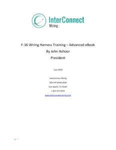 F-16-Wiring-Harness-Training-Advanced-eBook-2018-June-Rev-04-pdf-232x300