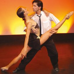 Interdance Tanya und Julio Acevedo Tango Split