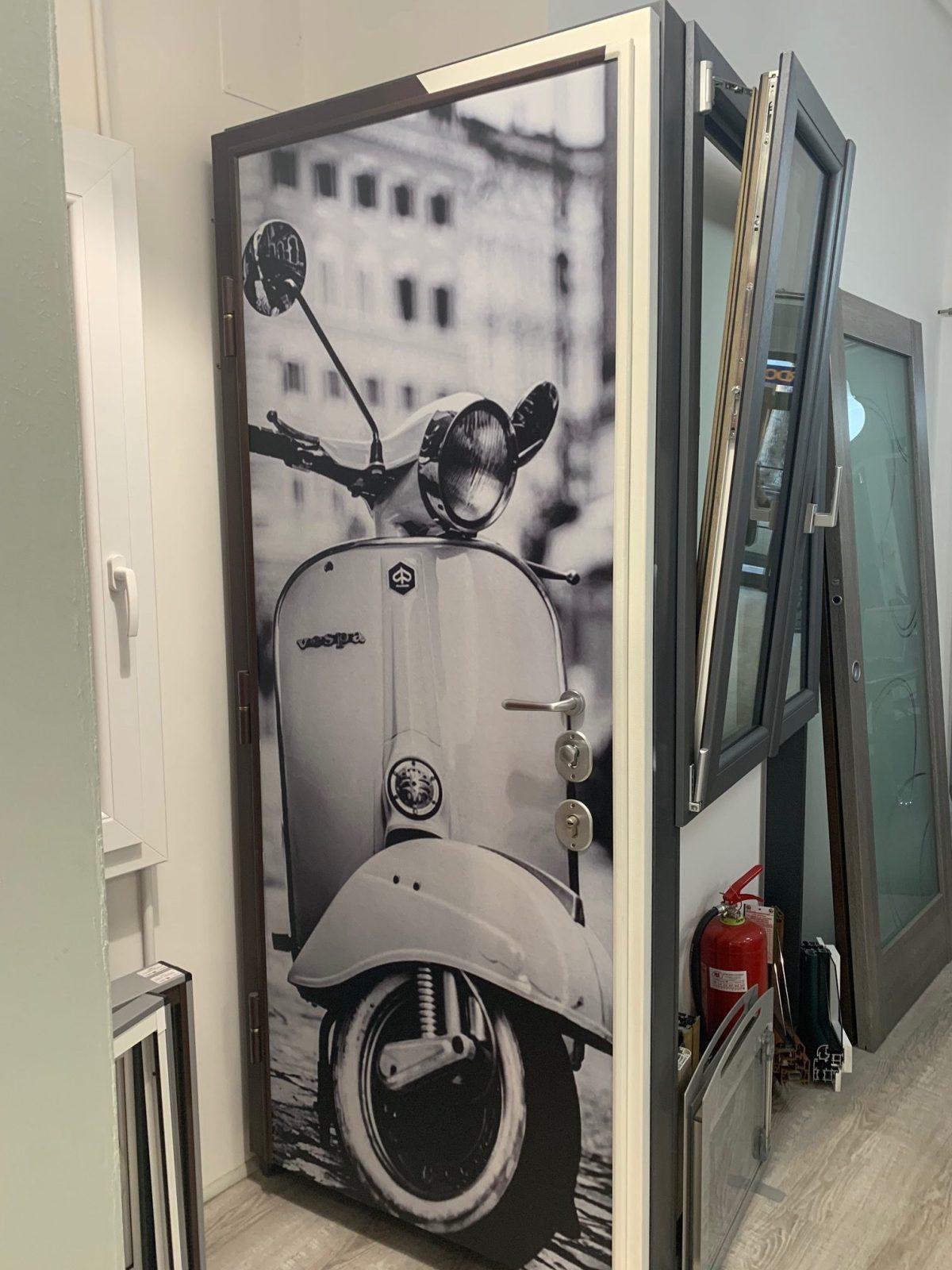 porte con pannello interno personalizzate