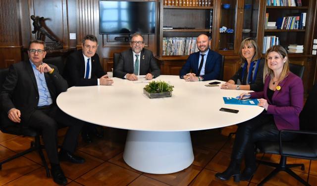 Alianza entre Valencia, Castelló, Tarragona, Barcelona, Lleida y a favor del Corredor Mediterráneo