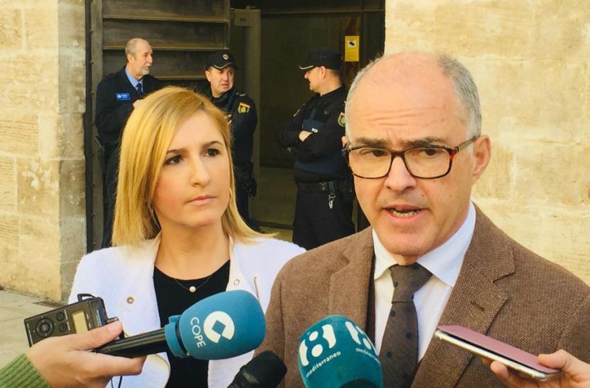 """Pradas y De Rosa acusan al PSPV de """"deslealtad"""" en el Senado tras votar 'no' a la devolución del IVA a la Comunitat Valenciana"""