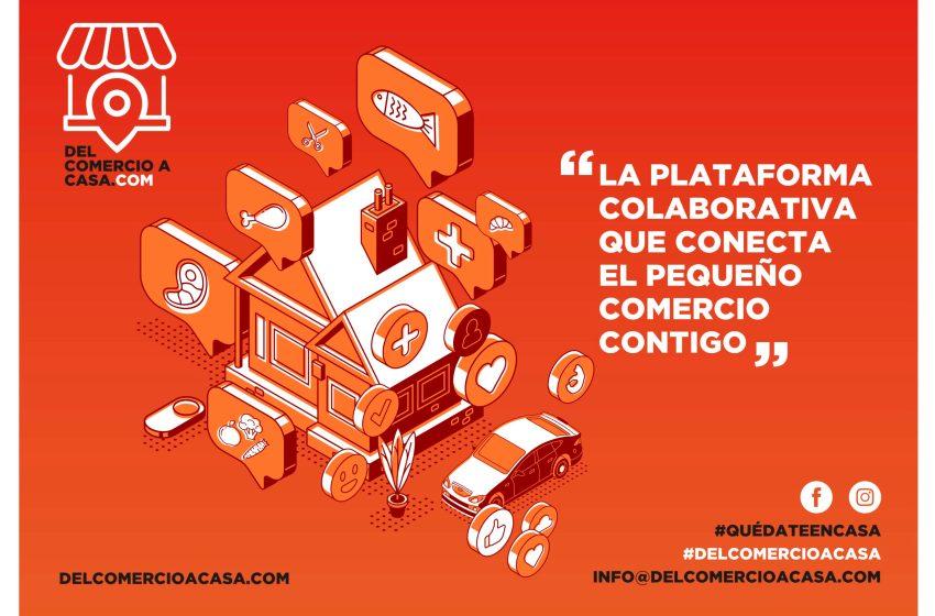 Nace la plataforma solidaria www.delcomercioacasa.com