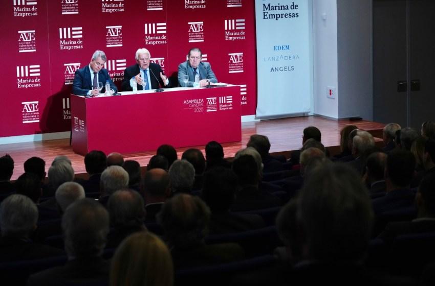 AVE pide garantizar la actividad empresarial esencial con seguridad y un plan de choque con medidas económicas