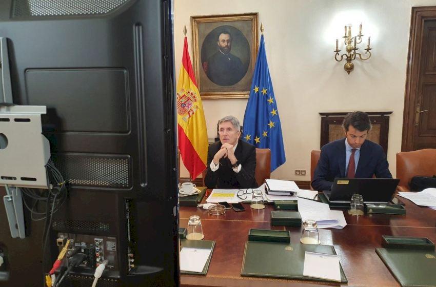 Cierran las fronteras terrestres de España