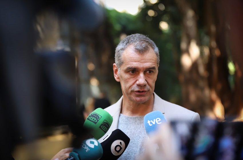 Cantó celebra la unanimidad para  crear una comisión mixta para la reconstrucción de la Comunidad Valenciana