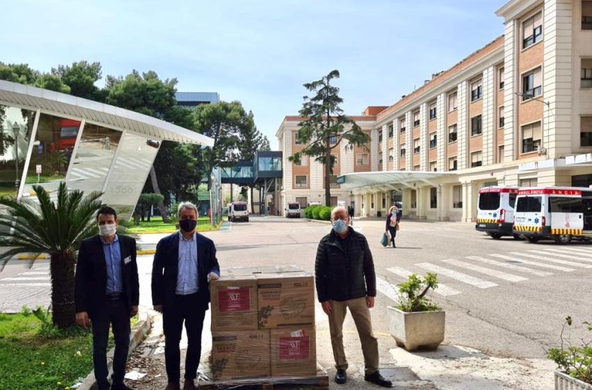 AVE dona 500.000 mascarillas a hospitales de la Comunitat Valenciana