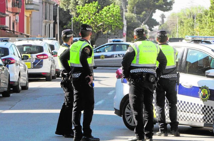 CSIF reclama mayor protección para los agentes de Policía Local de Valencia ante covid-19 y más efectivos para patrullar