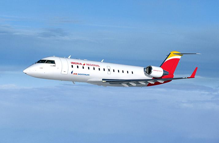 Air Nostrum incrementa en un 40% su oferta de plazas para abril