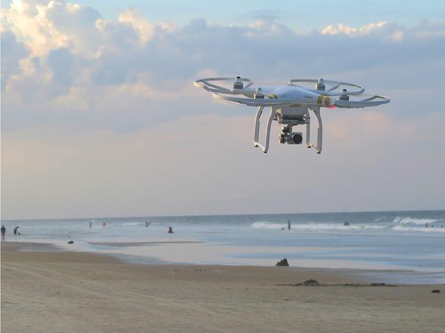 Las playas contarán con la vigilancia de Drones para garantizar la seguridad de los ciudadanos