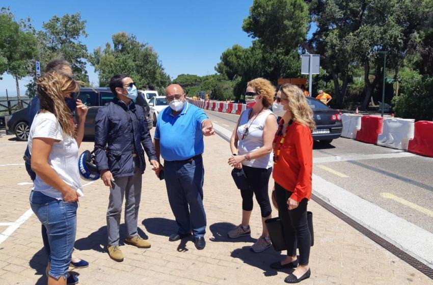 """El PP advierte que """"las intervenciones en la CV-500 ya provocan graves retenciones y ponen en riesgo cientos de empleos en las playas del sur de Valencia y el Palmar """""""