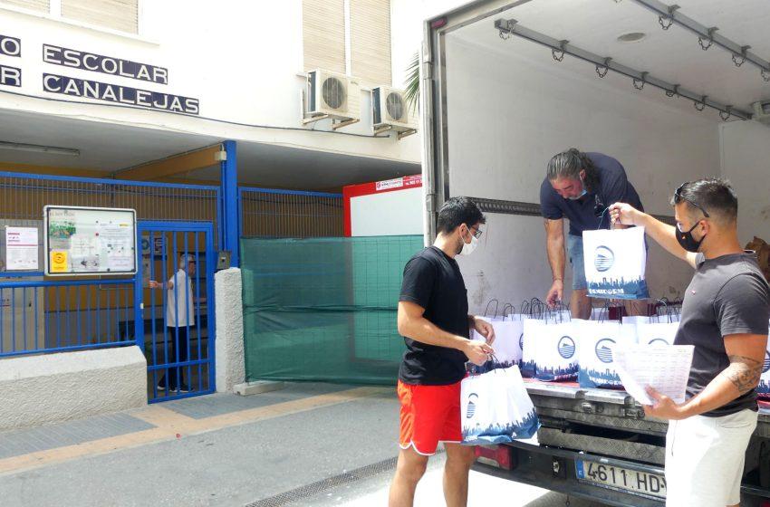 Hoy se alcanzan los 23.000 menús ofrecidos desde el Ayuntamiento de Benidorm a familias, que se suman a los del programa 'Menjadors a casa'