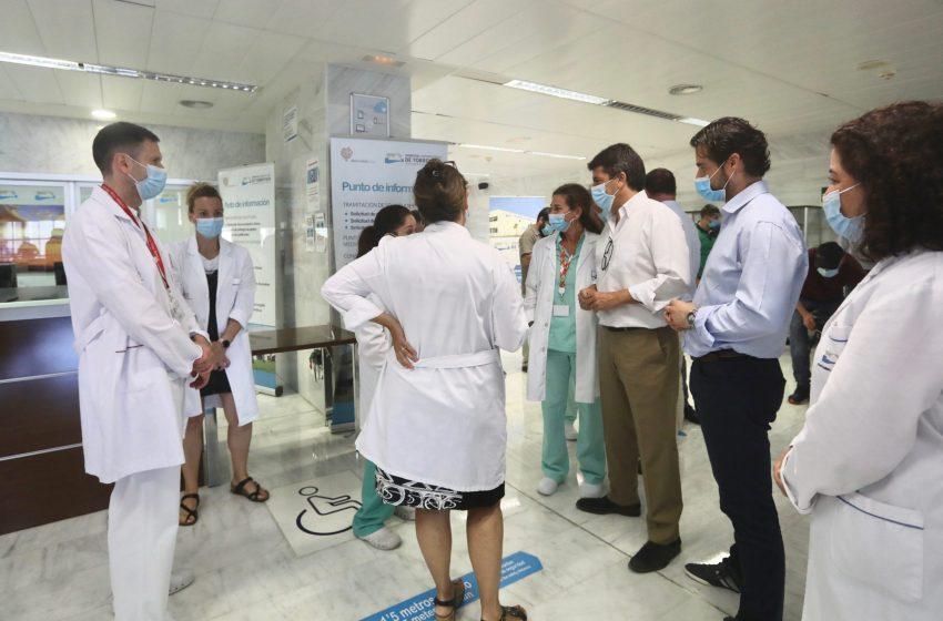 Mazón solicita una reunión a Puig para evitar la reversión del Hospital de Torrevieja