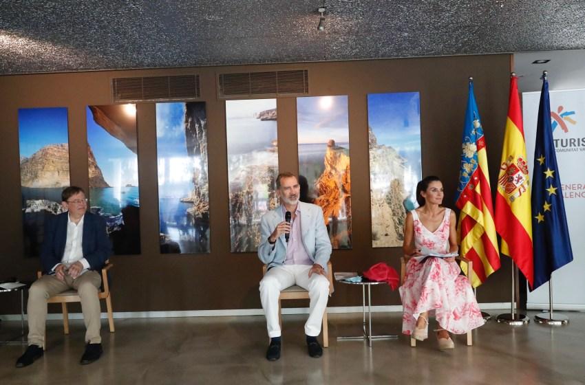 Ximo Puig participa en la reunión de los Reyes de España con empresariado y sindicatos valencianos