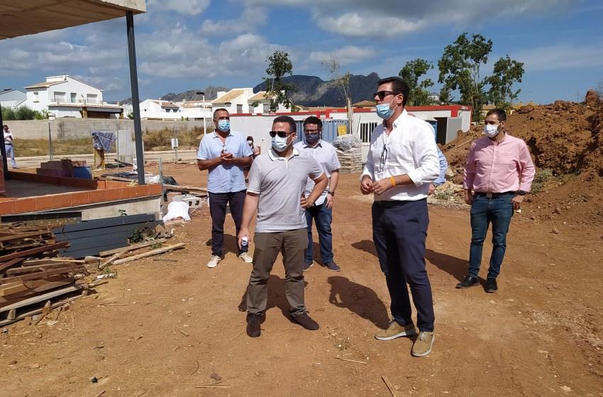 La Diputación de Alicante ofrece su colaboración para agilizar las obras subvencionadas en pequeños municipios