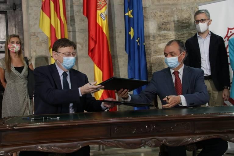 La CEV y la Generalitat crean el Foro para el Desarrollo de Infraestructuras y Edificios Sostenibles de la Comunitat Valencia