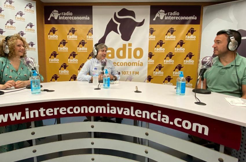 """Vicent Mompó (PP) en """"El Intercafé"""": """"La renovación en los municipios es colocar a los mejores en su puesto"""""""