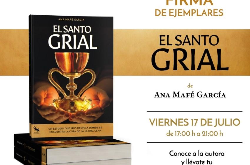 """Ana Mafé firmará esta tarde el libro de """"El Santo Grial"""" en el Fnac de Valencia"""
