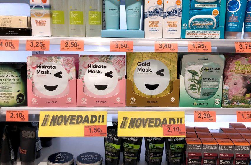 Mercadona vende 6.500 unidades al día de las nuevas mascarillas faciales deliplus