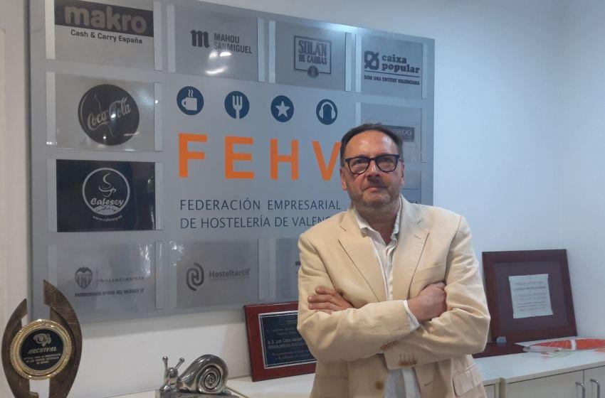 """Manuel Espinar en El Intercafé: """"El 30% de la hostelería valenciana puede cerrar antes de navidad"""""""