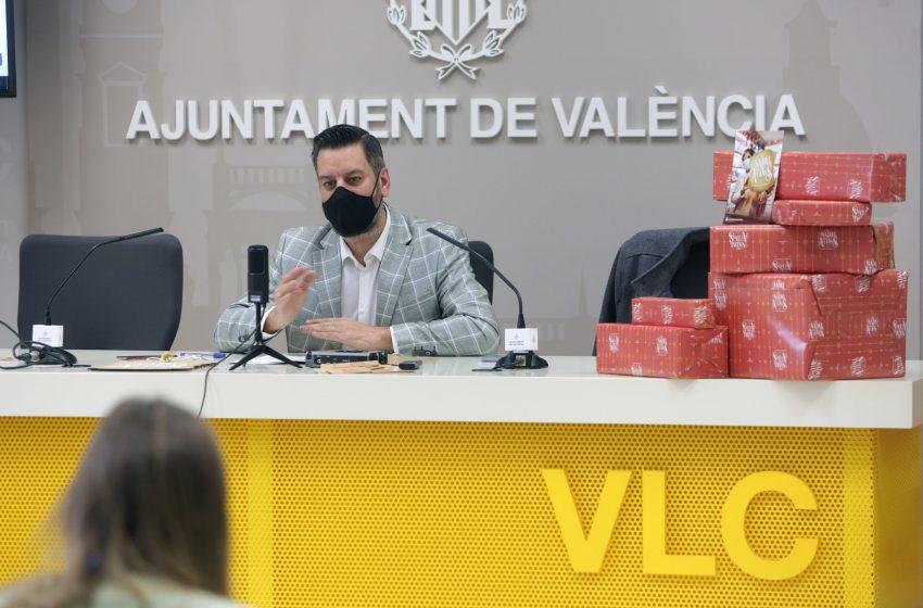 El ayuntamiento de Valencia anima a la ciudadanía para encontrar la Navidad dentro de los comercios de proximidad