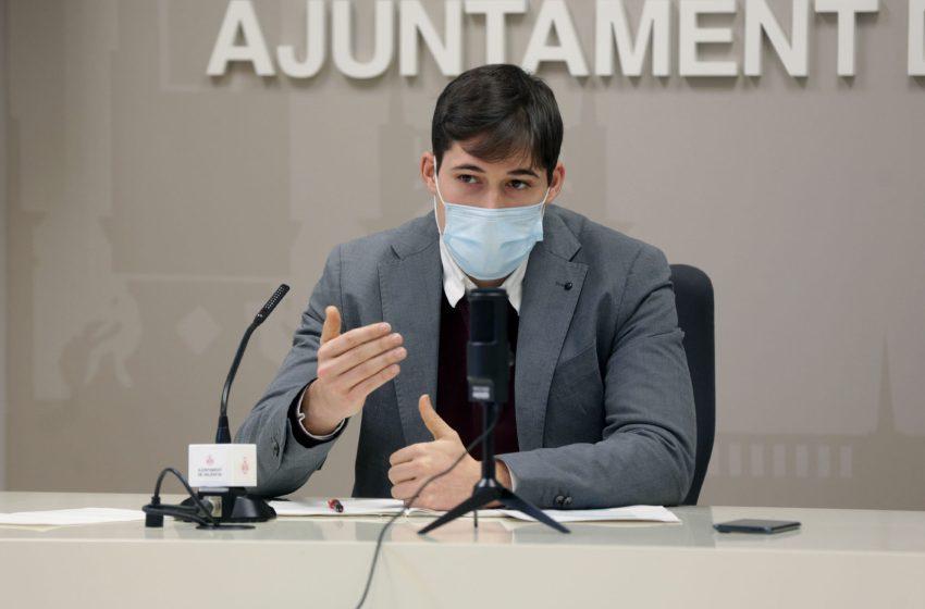El ayuntamiento de Valencia aplicará una rebaja de más de 2 millones de euros en 2021 en la tasa de alcantarillado a las empresas