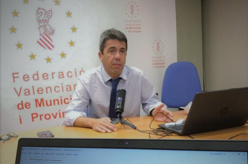 Mazón anuncia que el PP presentará mociones en todos los ayuntamientos para exigir la reducción de impuestos en la hostelería y el comercio a Sánchez y Puig