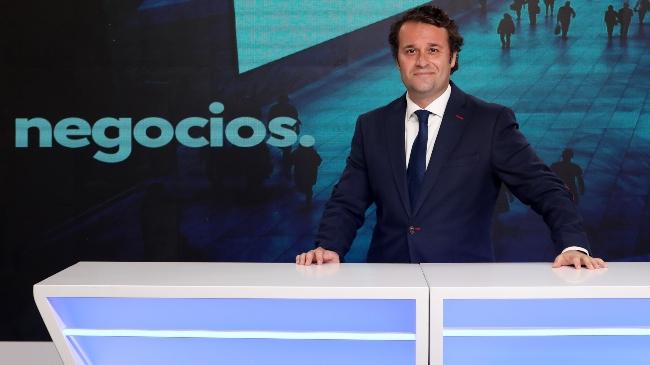 """José A. Vizner (CEO Negocios TV) en El Intercafé: """"Es un proyecto que tratará de nutrir la cultura económica de la sociedad española"""""""