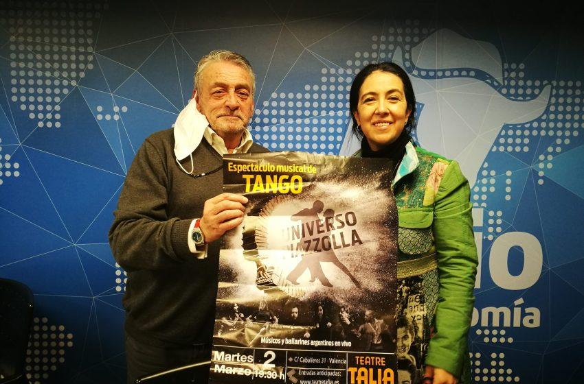Analía Bueti estrena 'Universo Piazzolla' en el Teatro Talía