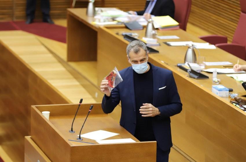 Cantó propone una reunión a Puig para poner en marcha las medidas acordadas en los últimos presupuestos
