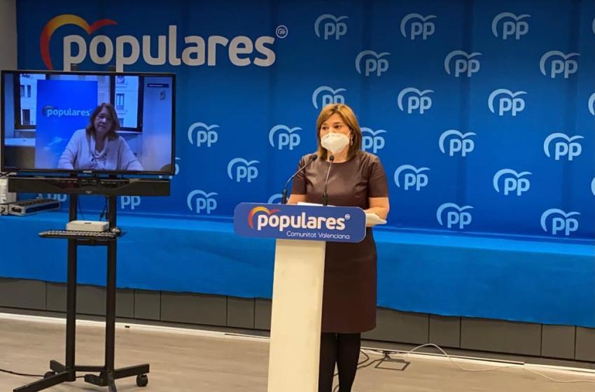 """Bonig pide a Puig """"acuerdo y consenso"""" con los proyectos europeos y que """"deje de mentir"""" sobre la llegada de fondos"""
