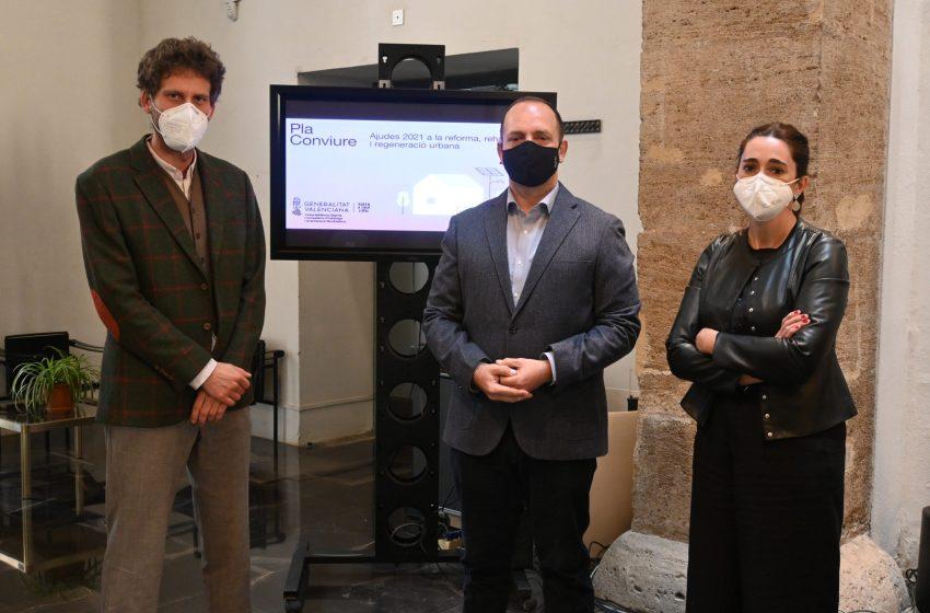 Martínez Dalmau presenta el 'Pla Conviure' para la recuperación de espacios públicos en áreas urbanas y rurales