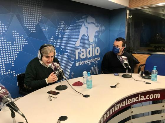 """Vicent Mompó en El Intercafé: """"Hay que celebrar ya los congresos locales, porque es necesario renovar el partido de cara a las municipales de 2023″"""