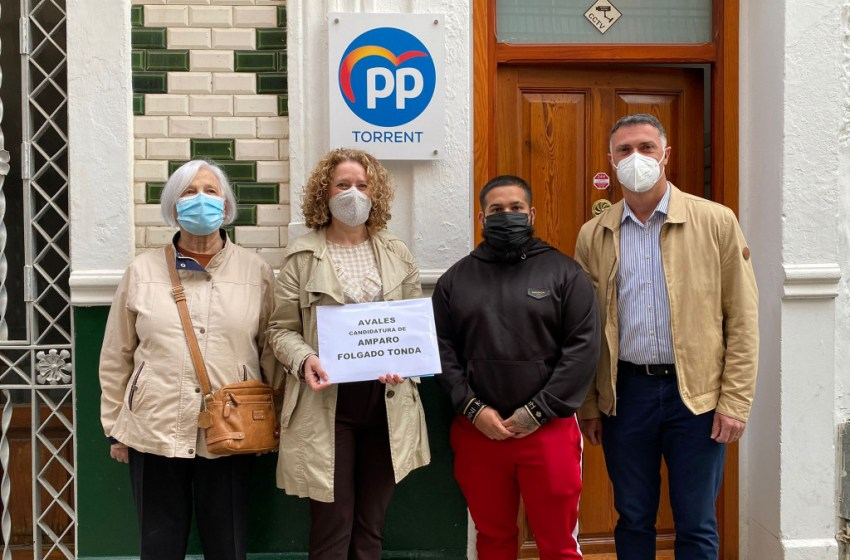"""Folgado finaliza su campaña pidiendo a los afiliados su voto """"para construir juntos un PP de Torrent fuerte, ganador y que represente a todos"""""""
