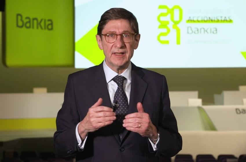 """Goirigolzarri: """"El proceso de transformación de Bankia, basado en unos sólidos principios de gestión responsable, ha sido impresionante"""""""