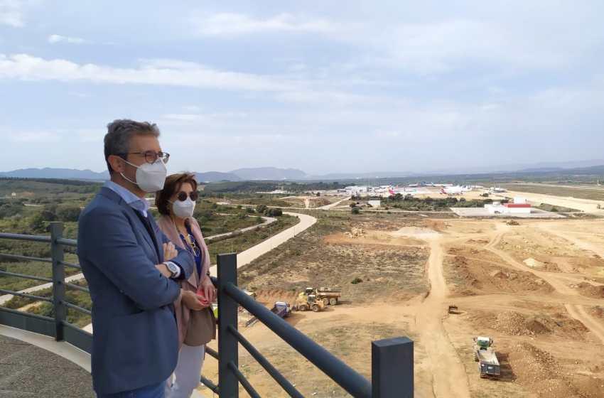El aeropuerto de Castellón impulsa inversiones por casi 600.0000 euros para favorecer el desarrollo de la actividad y avanzar en la diversificación
