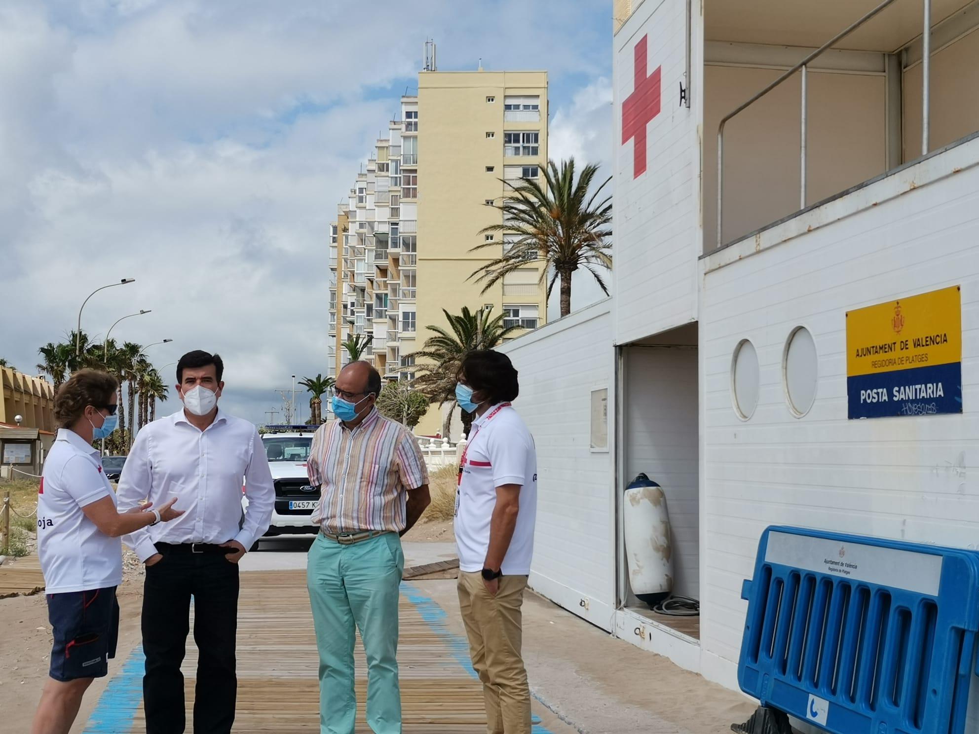 Giner exige a Ribó ampliar el servicio de socorrismo a las Playas del Sur