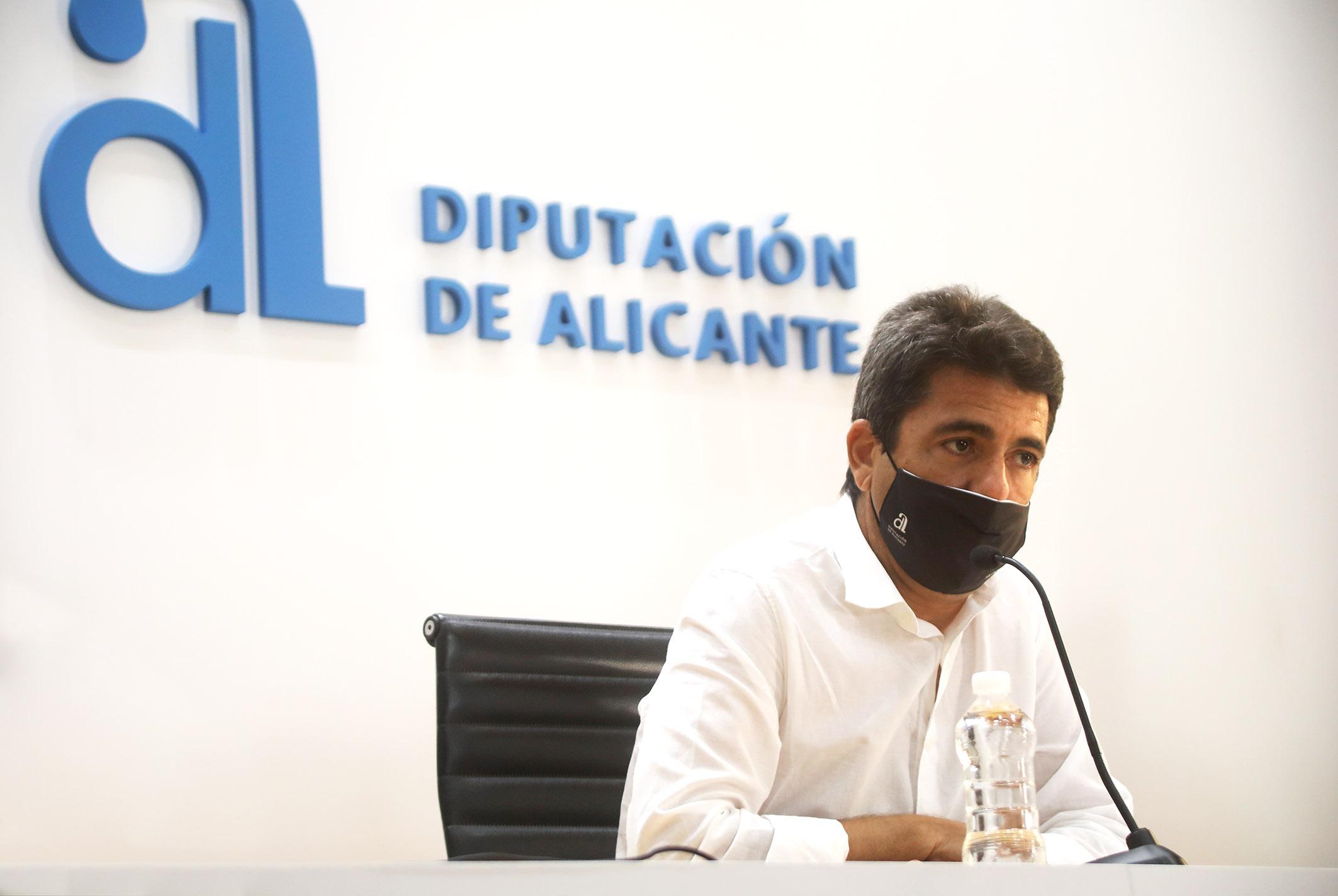 """Mazón: """"Hemos puesto en marcha la maquinaria jurídica para recurrir el decreto del Gobierno contra el trasvase Tajo-Segura"""""""