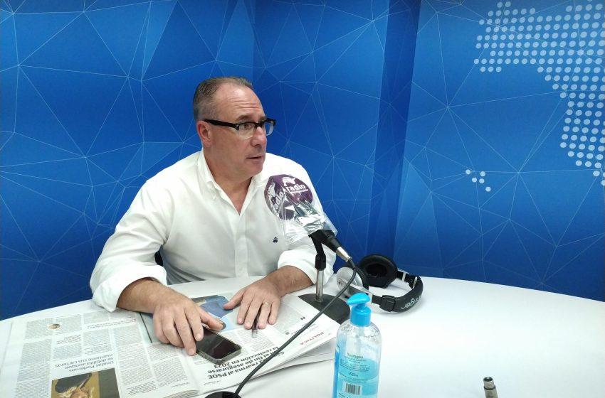 """Juan Vicente Pérez en El Intercafé: """"Valencia será la primera batalla política para concretar lo que sucederá en la Comunitat"""""""