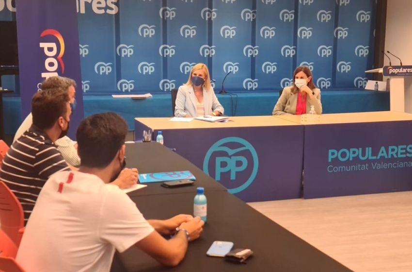 El PPCV constituye la vicesecretaría de empleo, emprendimiento e infraestructuras encabezada por Catalá y Pradas