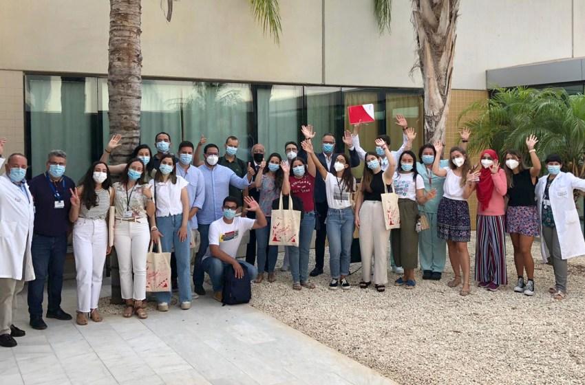 Torrevieja da la bienvenida a la décimo primera promoción MIR que comienza su formación en el Departamento de salud