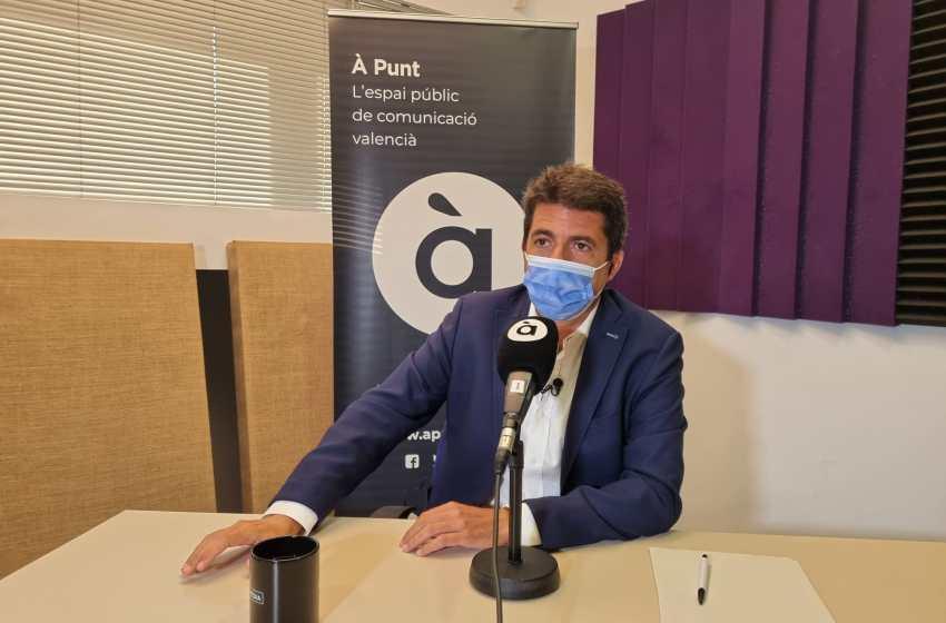 """Mazón: """"Puig prefiere reunirse con los independentistas antes que con los presidentes de las Diputaciones"""""""