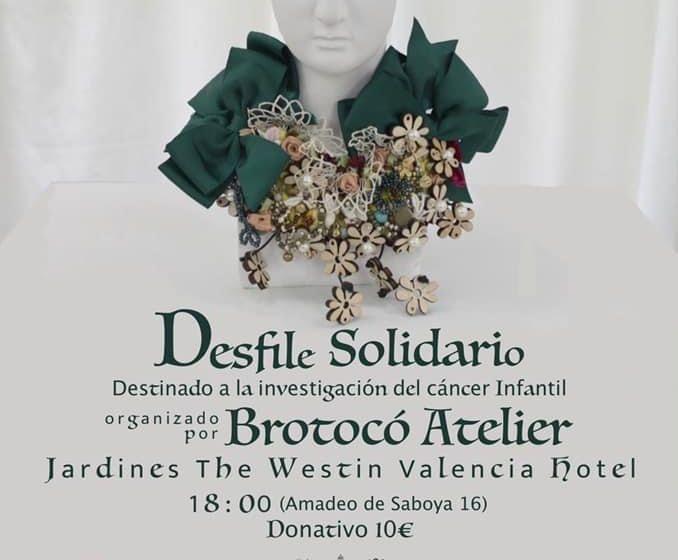 """Brotocó atelier celebra su desfile solidario anual a favor de la ONG """"Esperanza y Sonrisa"""""""