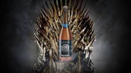 beer on throne