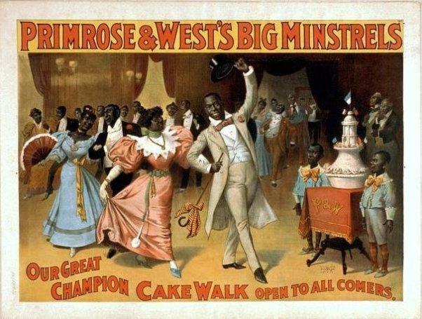 Minstrel show cakewalk
