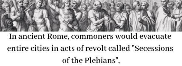 Secessions of the Plebians