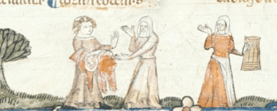 Medieval thrift shopping