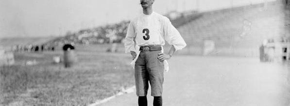 Felix Carvajal at the 1904 Olympic Marathon